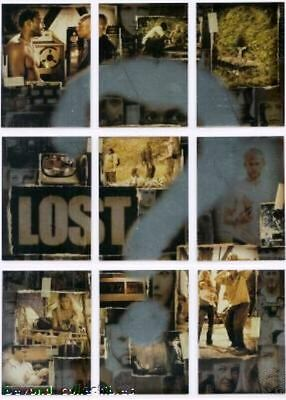 LOST SEASON 2 -  ? QUESTION MARK - FOIL INSERT CHASE PUZZLE CARD SET OF 9