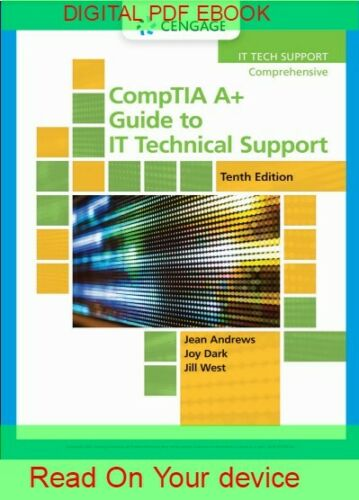 CompTIA A+ Guide to IT Technical Support 10th edition {ṖDF}