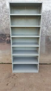 Steel shelving unit for sale