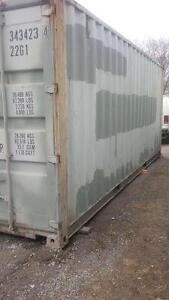 USED 20' SHIPPING CONTAINERS ,FREE DELIVERY $ 2600.