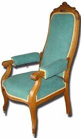 "Amazing Vintage Armchair ""Voltaire"" style"