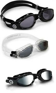 Aqua-Sphere-KAIMAN-Swim-Goggle-SMOKE-Lens-Pool-Mask-Triathlon-Training-CHOOSE
