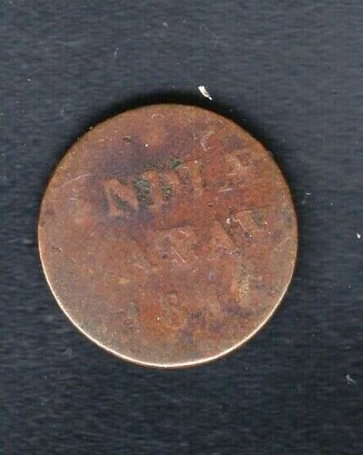 1816 COIN , 1/16 GULDEN INDIA BATAV NETHERLANDS