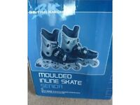 BRAND NEW AND BOXED British Knights Moulded Inline Skates - Senior, Size 9