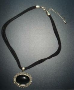 black victorian necklace Windsor Region Ontario image 1