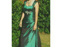 Emerald Green prom / bridesmaid dress size 8-12