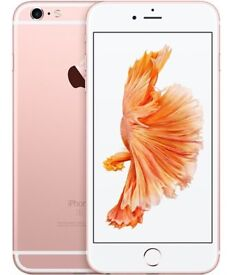 IPhone 6s Plus. Rose Gold. NEW