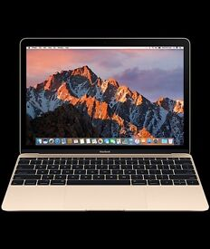 New MacBook Air in Gold