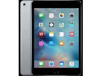 Ipad Mini 4 Space Grey 16GB as new