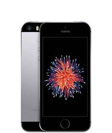 IPHONE SE 32GB SPACE GREY LOCKS TO FIRST SIM