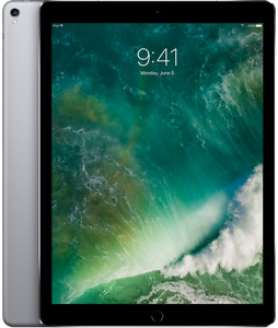 """12.9"""" iPad pro 128G Grey in perfect condition Apple Care to 2018"""