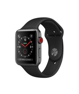 Apple Watch 42mm Sports Series 3 with GPS + Cellular