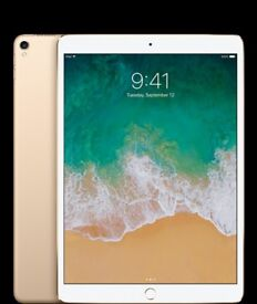 AS New - iPad Pro + New Apple Pencil , 10.5-inch, 64Gb, WiFi GOLD latest 2017 model