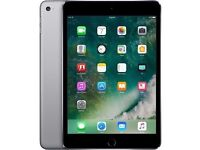 APPLE IPAD MINI 4 128GB WIFI SPACE GREY BRAND NEW COMES WITH 12 MONTHS APPLE WARRANTY