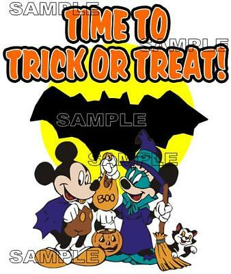 Disney Mickey's Not So Scary Halloween Party Trick or Treat Scrapbook Piece](Not So Scary Halloween Crafts)