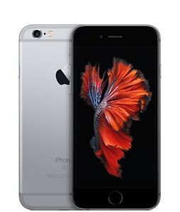 iPhone 6s 64gb Space Grey, unlocked - 2 cases