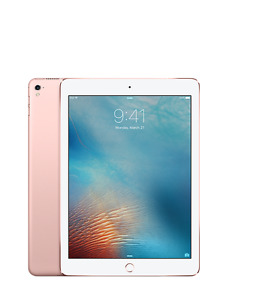 iPad Pro 12.9in Rose Gold 128 gb With Apple Pen