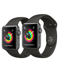 Apple Watch Series 3 42mm Black with warranty