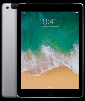 iPad 2017 32GB Cellular 12-month 5/12/18 warranty