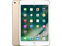 Apple iPad Mini 4 - Gold - 16GB - WIFI - Brand New Sealed!