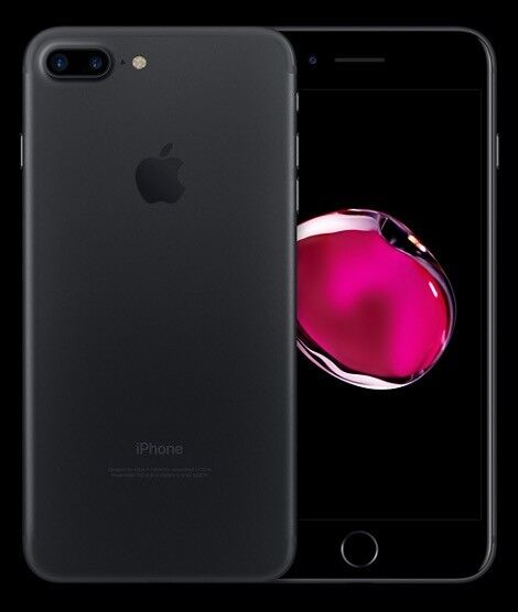 iPhone 7 Plus 32gb matte black immaculate condition