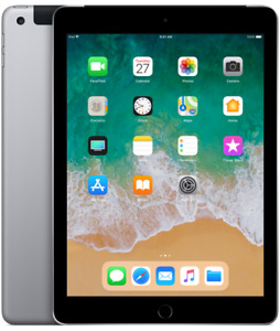 2018 iPad 32GB with cellular for sale - Space Grey -with receipt