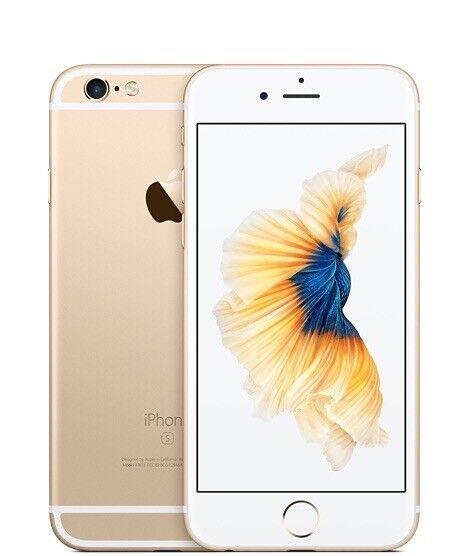 Apple iPhone 6S - 128GB - Gold - Unlocked - Practically Brand New
