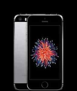 iPhone SE Space Grey 64GB w/ Spigen Tough Case + Screen Protector Forrestdale Armadale Area Preview