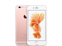 BRAND NEW CONDITION - IPHONE 6S 128GB ROSE GOLD - UNLOCKED - £250