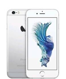 iPhone 6S Silver 16GB - Good condition. Locked to Vodafone