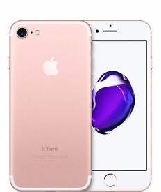 Apple IPhone 7 32GB in Rose Gold Brand new without box, £450 great value deal!