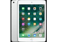 Apple iPad Mini 3 128Gb wifi / 4G in silver with Applecare February 2018