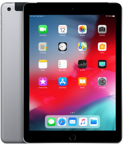 "Apple iPad 9.7"" 32GB with Wi-Fi & Cellular- Space Grey - New in"