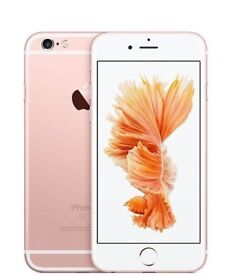 Apple i phone 6s 16GB, 64GB, unlocked to all network rose gold + accessories