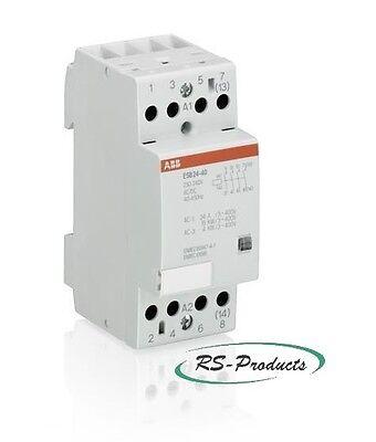 ABB ESB24-40-230AC/DC Install.Schütz 4S 230-240V, GHE3291102R0006