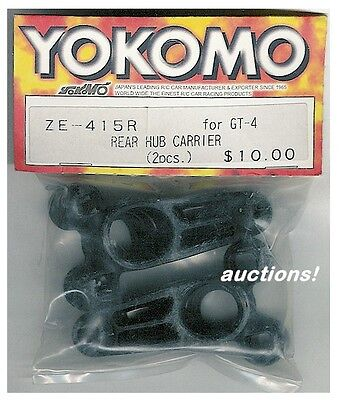 Yokomo Ze-415r Gt-4 Gt4 Rear Hub Carrier 2pcs Touring