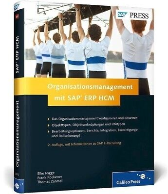 Organisationsmanagement mit SAP ERP HCM - 9783836230759 PORTOFREI