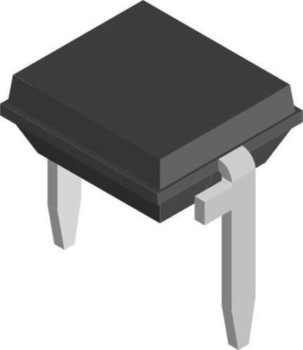 Lot of 3 Vishay PIN Photodiodes 950nm 130° 2-DIP BP104