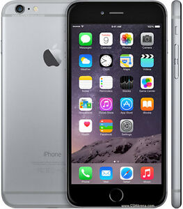 iphone 6 plus 64GB phone works with bell, virgin or public