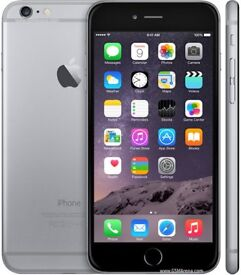 IPhone 6 Plus Unlocked - Silver grey - As good as new