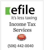 Professional Income Tax Services- efile