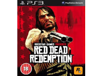 Red dead redemption/The last of us PS3 videogames