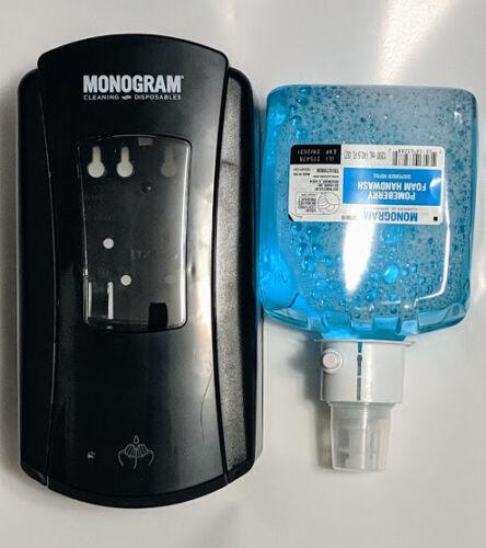 Monogram LTX-12 Touch Free Foam Soap Dispenser  & Soap
