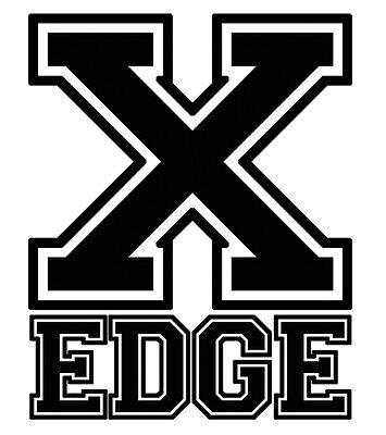 STRAIGHT EDGE Aufkleber SXE XXX, black on white ground