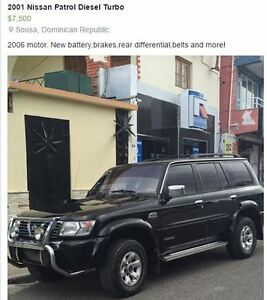 Attention EX-Pats! Dominican 2001 Nissan Patrol Turbo Diesel