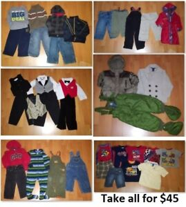 2T Boy Clothing Lot 2 (Take 36 Pieces for $45)