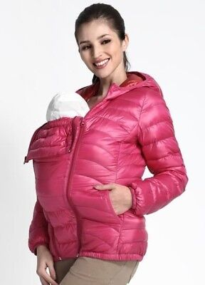 d6ad32b51fb2f 3 in 1 babywearing jacket, mamaway, pregnancy jacket, down jacket