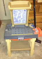 Excellent condition step 2 tool bench for sale