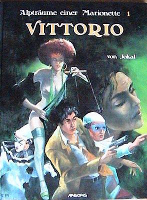 Alpträume einer Marionette # 1 ( Arboris, Hardcover ) Neuwertig