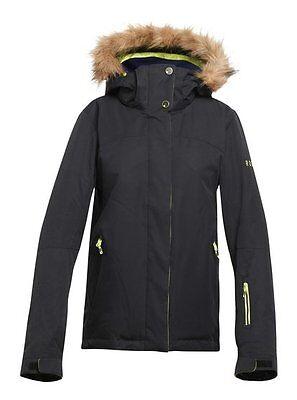 ROXY Skijacke Winterjacke Ski Jacke snow board jacket Snowboardjacke Jet solid ()